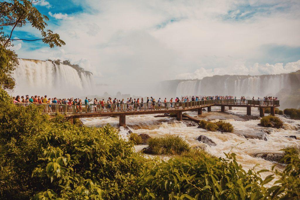 Cataratas del iguazú-Cluster