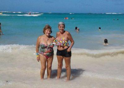 Moni y Chochi en Punta Cana